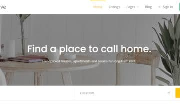 The Listing Hive theme.