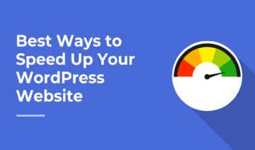 Best Ways to Speed Up Your WordPress Site, featured image