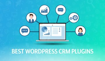 Best WordPress CRM plugins, featured image