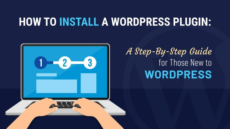 How to install a WordPress plugin, featured image