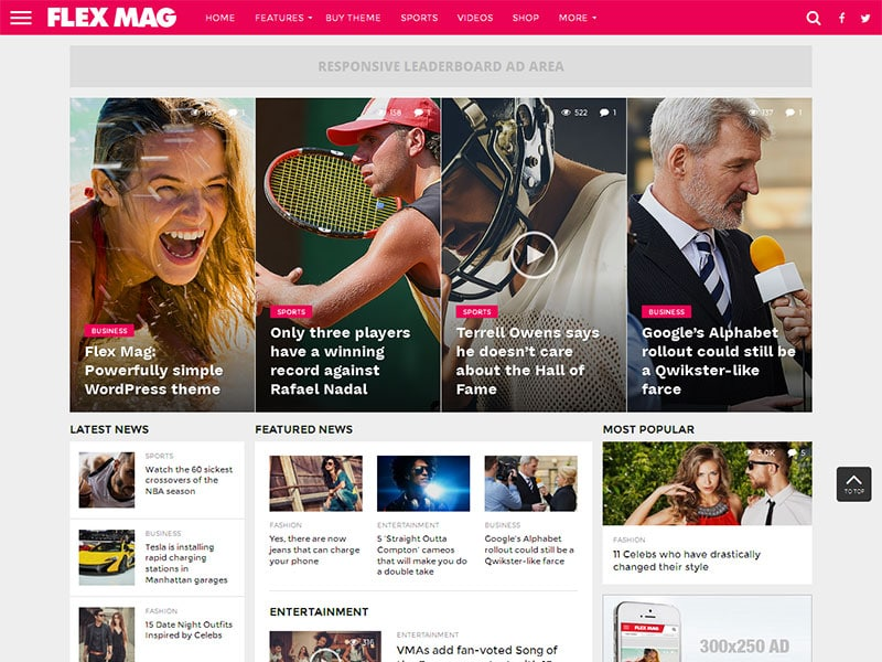 flex-mag-wordpress-news-theme