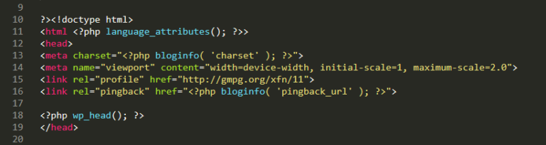 An example of a header file.