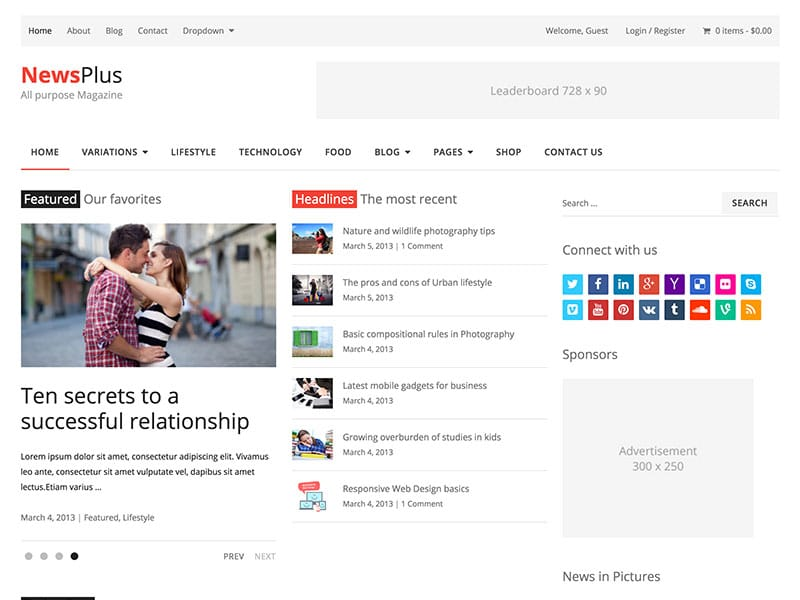 newsplus-magazine-theme