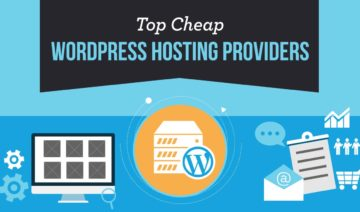 Top Cheap WordPress Hosting Providers, featured image